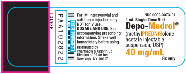 PRINCIPAL DISPLAY PANEL - 40 mg/mL Vial Label